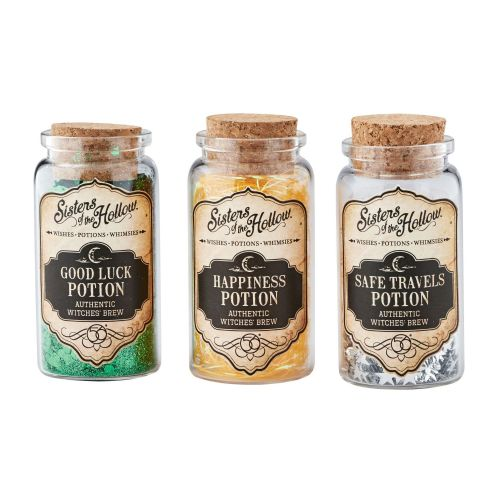 Department 56 Inspirational Potion Bottles Set of 3